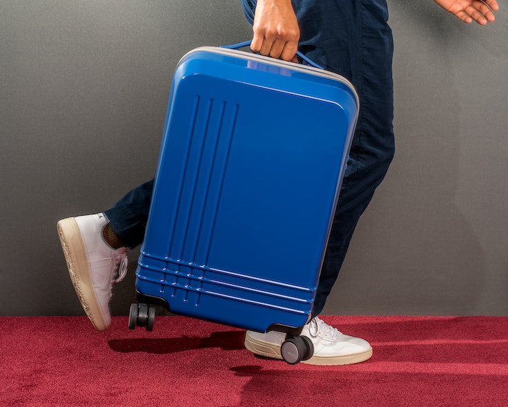 Roam's Jaunt carry-on can hold 40 liters and comes in seven different colors.