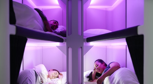 Air New Zealand Unveils Lie-Flat Beds Designed for Economy
