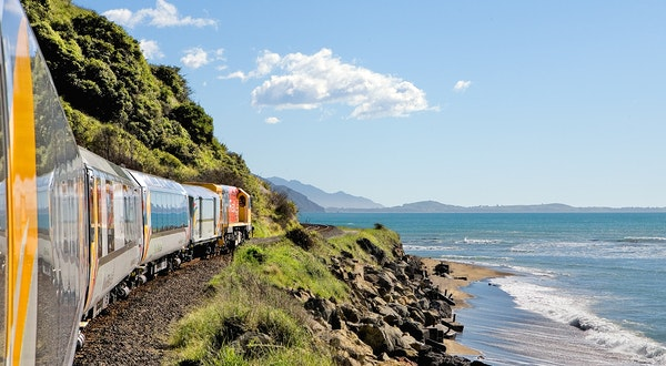 New Zealand's Coastal Pacific Train Is Reopening in December