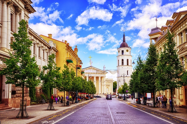 "One might call Vilnius a hidden gem, but its tourism board calls it a ""hidden pleasure."""