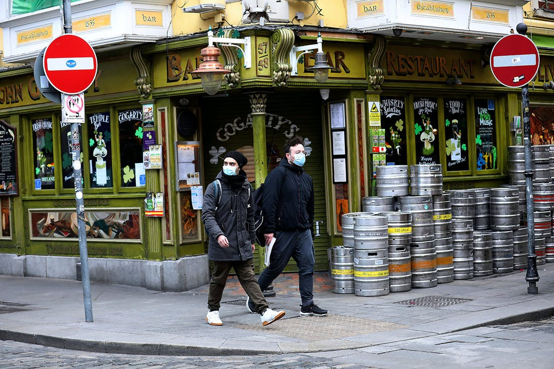 Ireland closed all bars and pubs indefinitely beginning March 15.