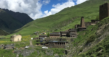 Meeting the Lone Resident of the Highest Village in Europe