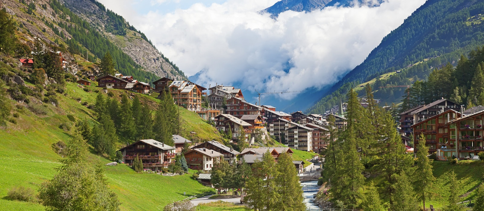 If you want to go to the Swiss Alps, summer is the more affordable season.