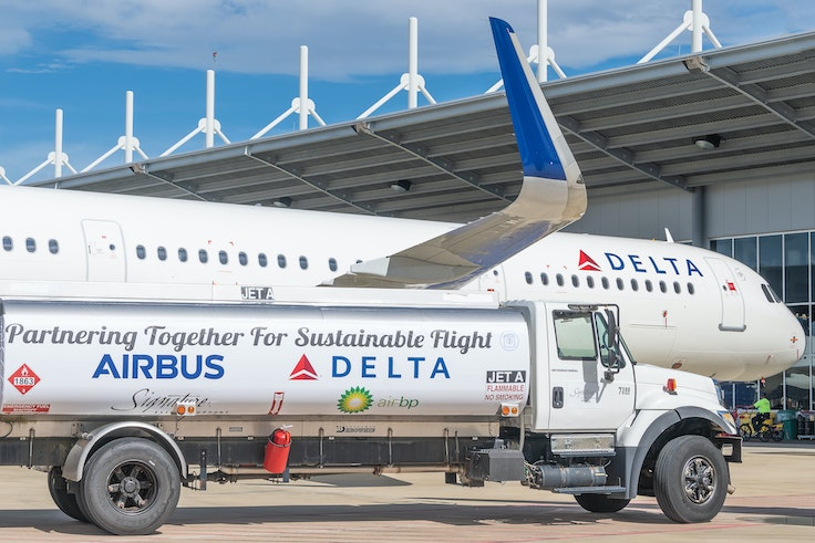 Delta is heading toward a more sustainable future.