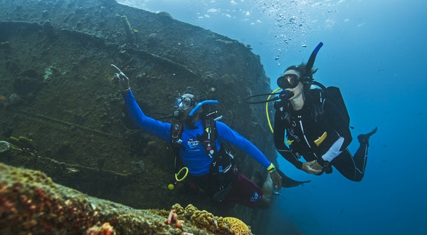 Scuba Diving Slave Shipwrecks Is a Spiritual Journey
