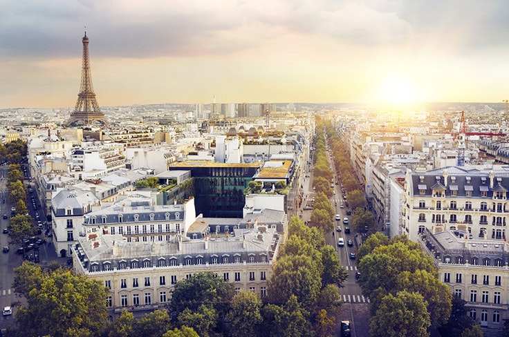 Paris is one of the best places to visit in May, while it's relatively crowd-free.
