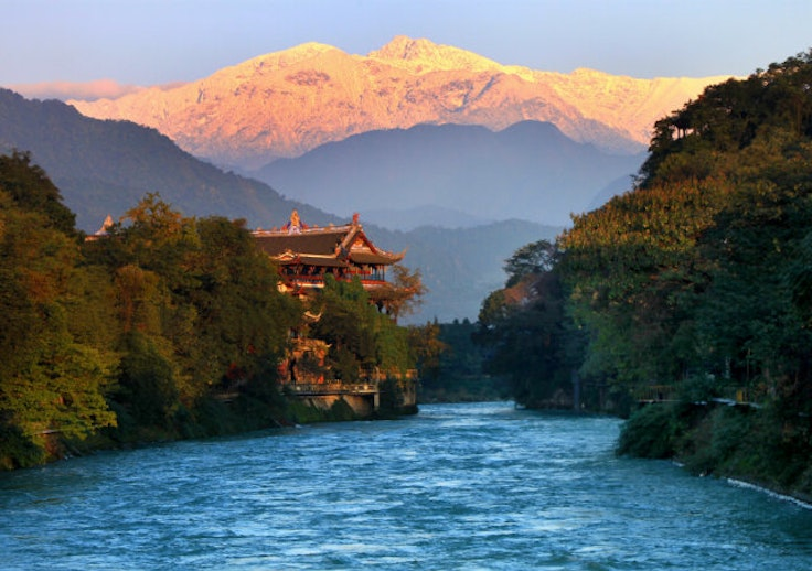 Build up your reward points and expand your travel horizons, to Chengdu, China, for instance.