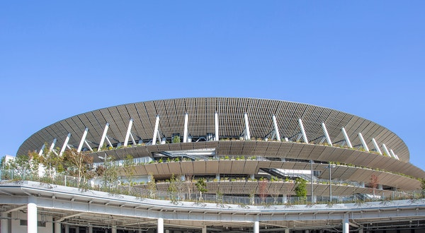 Japan's New National Stadium Opens Ahead of the Tokyo 2020 Olympics
