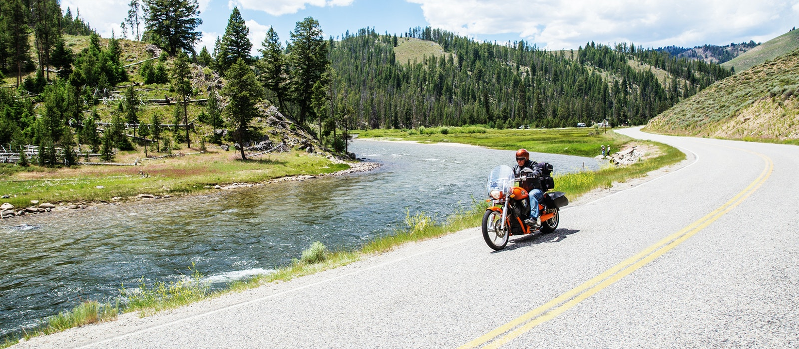 The best way to take in Idaho's high mountains, crystal-blue rivers, and rolling golden fields is by driving its scenic byways.