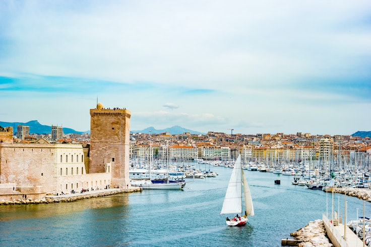 Vibrant Marseille is fast becoming the cool kids' favorite getaway in southern France.