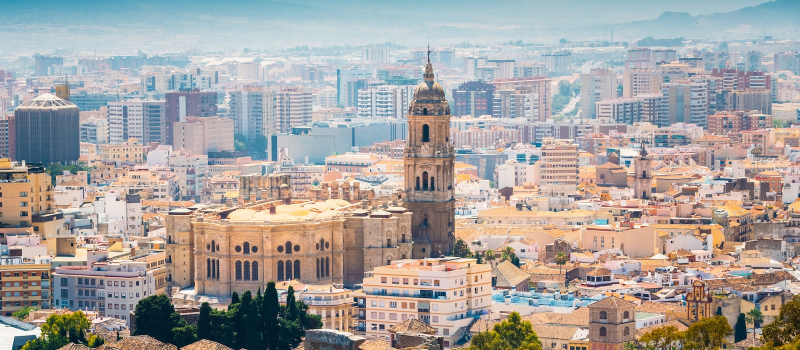 Malaga is located on southern Spain's Costa del Sol. The Andalucian city isknown for its architectural sites,stunningbeaches, and excellent cuisine.