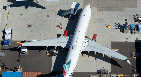 Boeing 737 Max Production Suspended