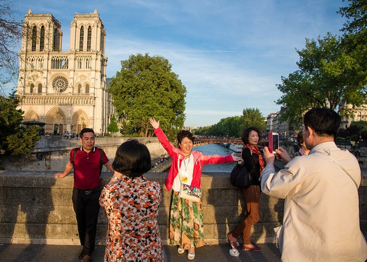 International travel by Chinese tourists is expected to grow more than 85 percent by 2025.