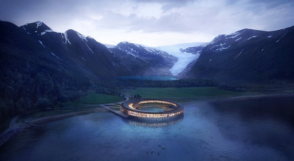 The World's First Energy-Positive Hotel Is Coming to Arctic Norway
