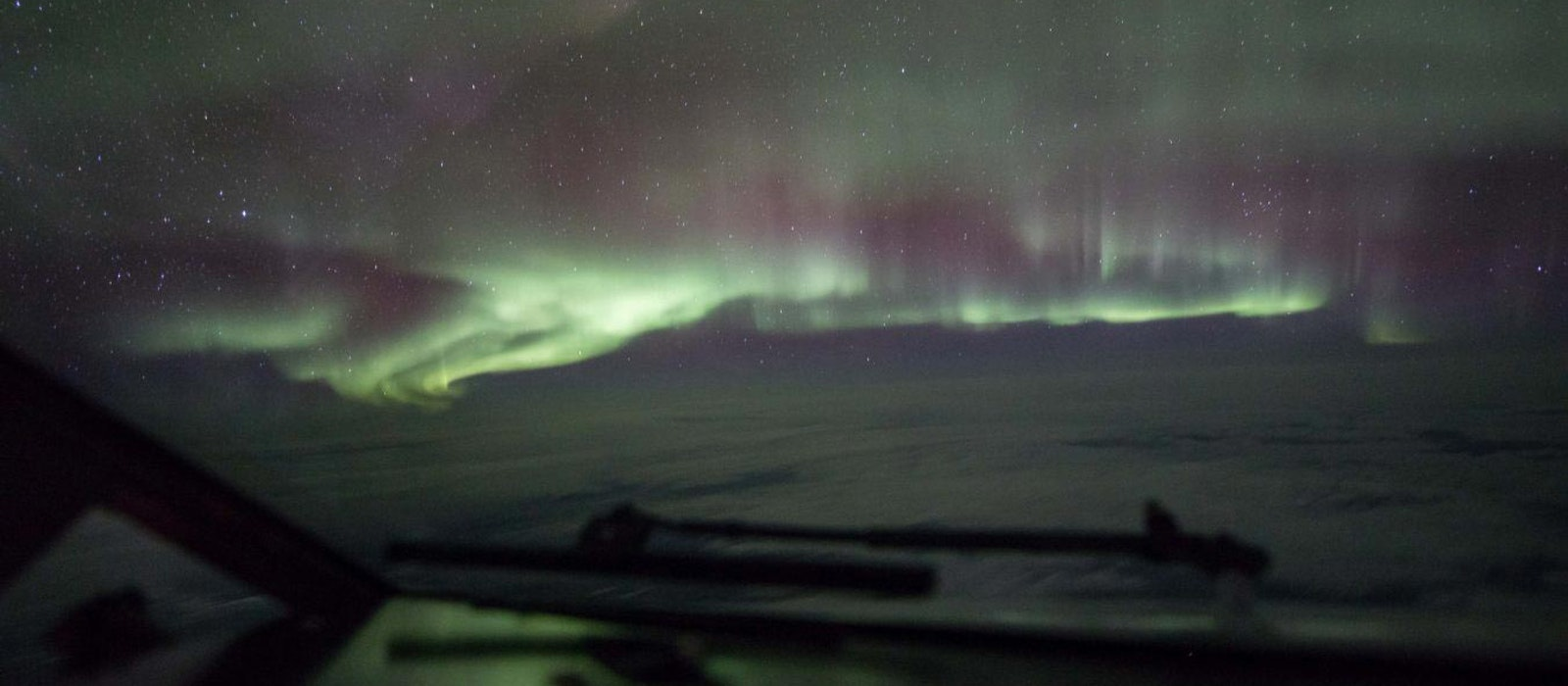 A view from last year's Aurora | 360 flight over the Yukon Territory