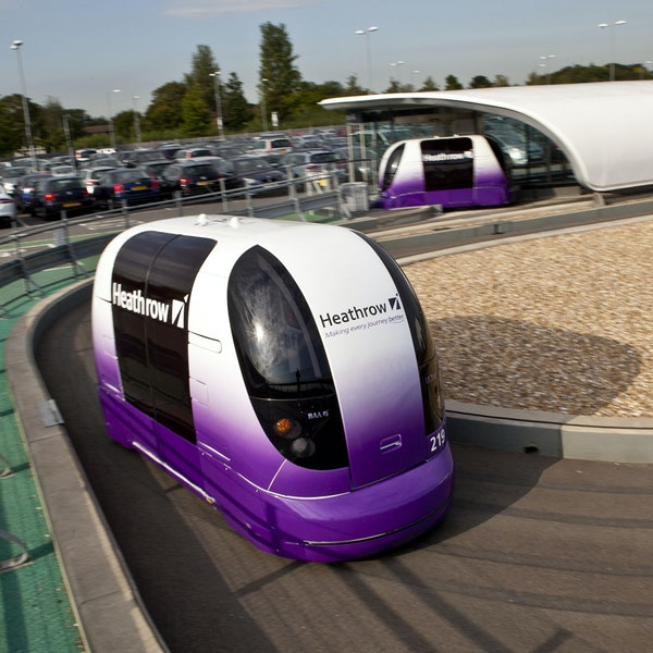 There's a Secret Way to Try Out Driverless Cars at Heathrow Airport