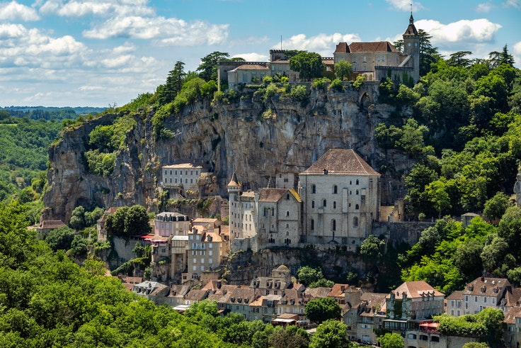 "The Lot region is home to intense and inky ""black wines"" and improbably perched villages like Rocamadour."