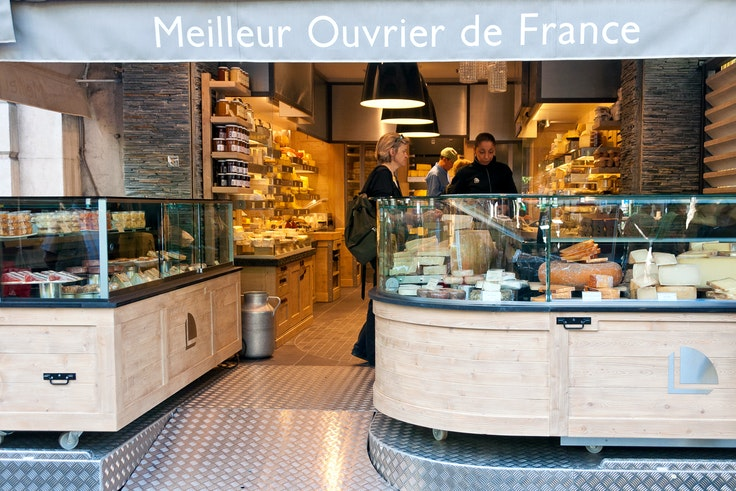 Fromagerie Laurent Dubois in Paris