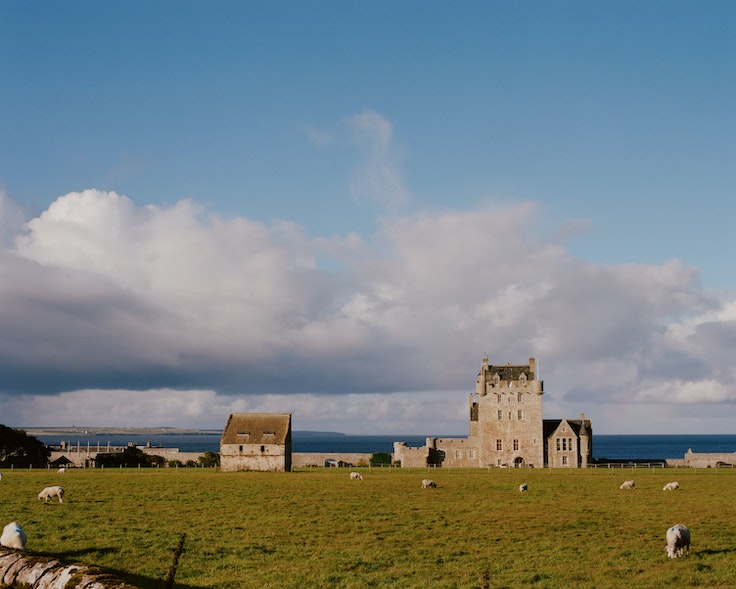 Ackergill Tower, created in the 15th century, is one accommodation option on the North Coast 500.