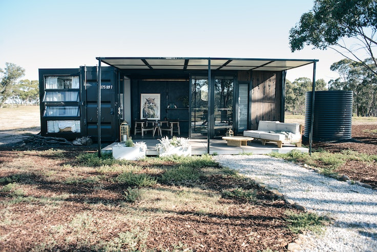 Off-the-grid Contained Hotel pops up in different places around Sydney, Melbourne, and Victoria in Australia.