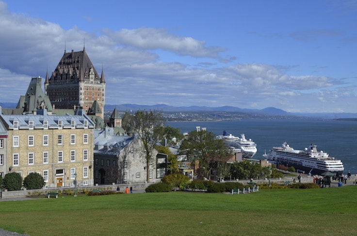 The view from Quebec City's citadel