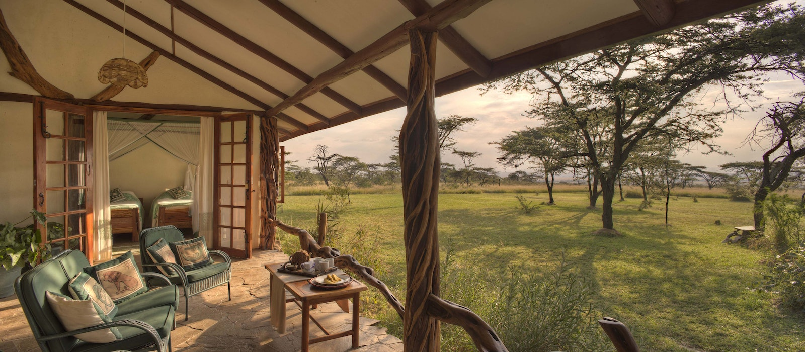 Make the Topi House your family's base camp in Kenya's Maasai Mara with Asilia Africa.