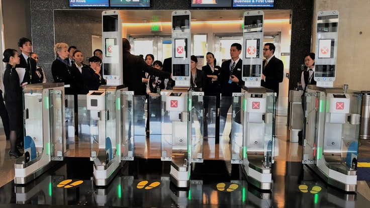The Los Angeles International Airport is testing boarding gates with facial-recognitionscanners.