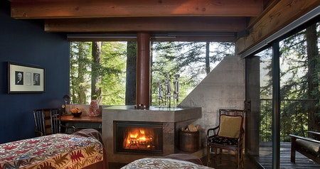 Cozy Up Next to a Roaring Fire in These Hygge Hotel Rooms