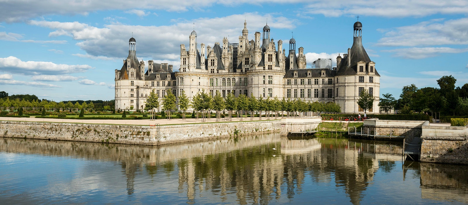 Château de Chambord is a jewel of the Loire Valley.