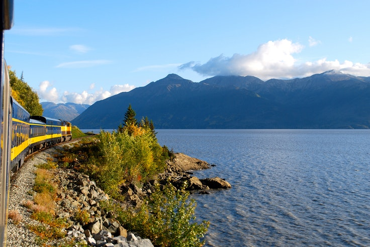 Views like this one of the Turnagain Arm can be found right outside of Anchorage.