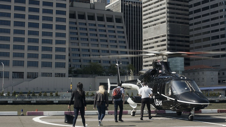 Uber Copter offers a quicker way to get to JFK.