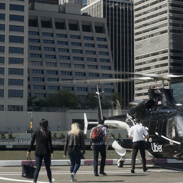 Uber Is Launching a Helicopter Service Between Manhattan and JFK