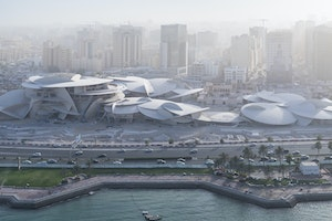 The New National Museum of Qatar Opens in Doha