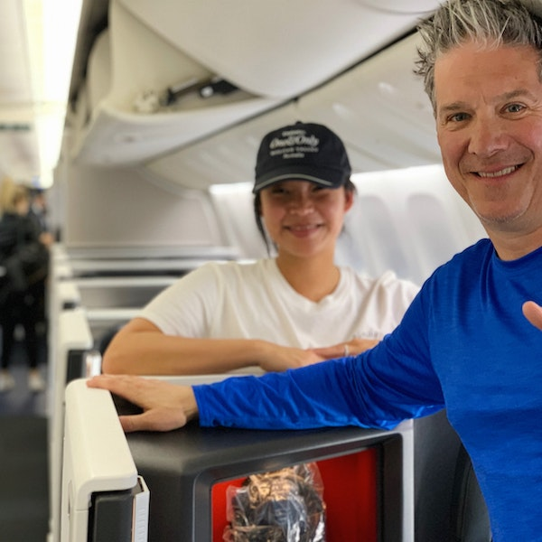 """On Air: Michael Holtz on the Best Business Class, Flight Shaming, and """"Secret"""" Air Routes"""