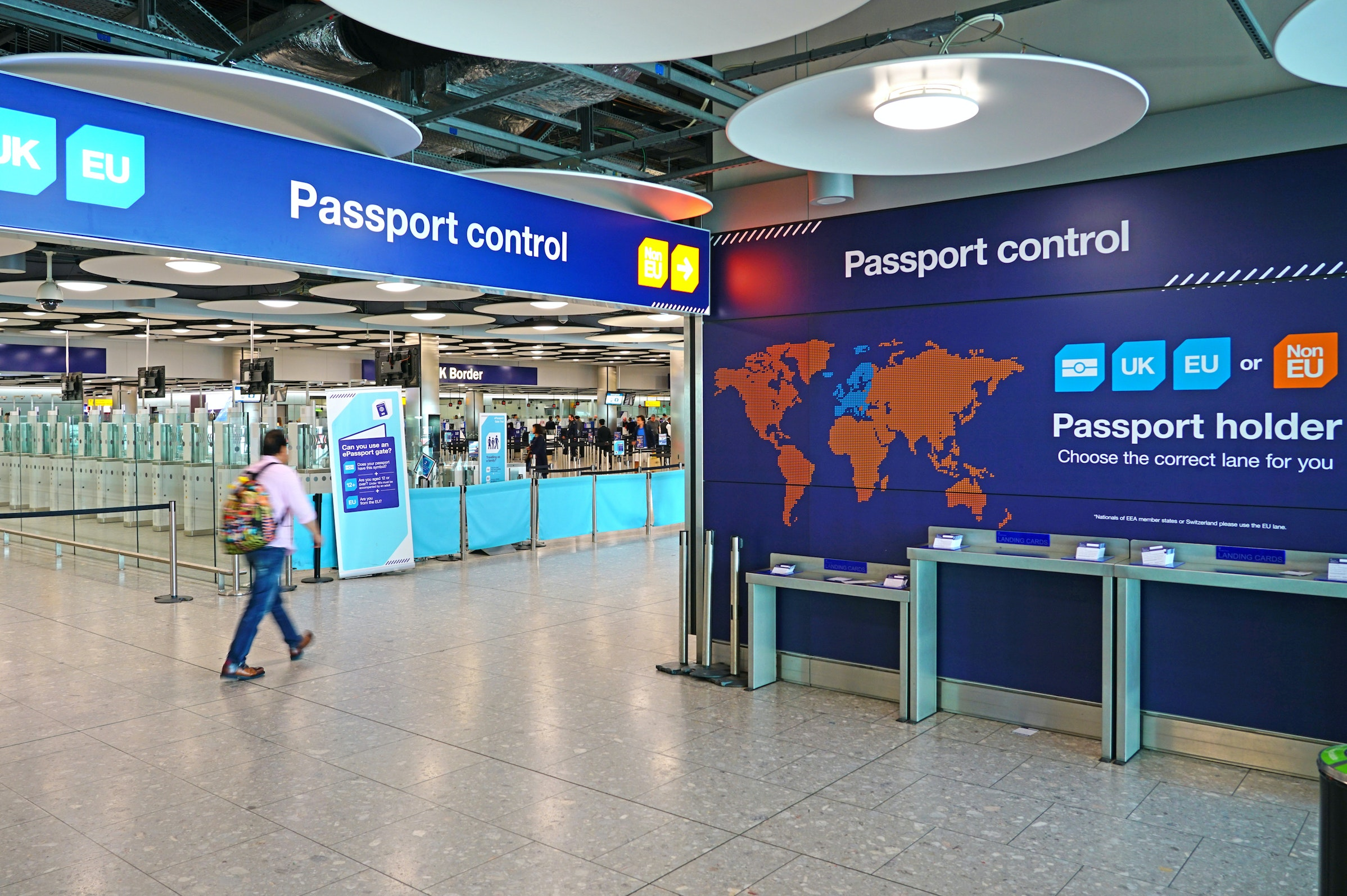 U.S. Travelers Can Now Use ePassport Lines at U.K. Airports