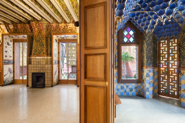 Gaudí's Casa Vicens opened its doors for public tours in fall 2017.