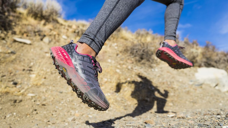 The Hoka One One Speedgoat 2 is our pick for serious trail-runners.