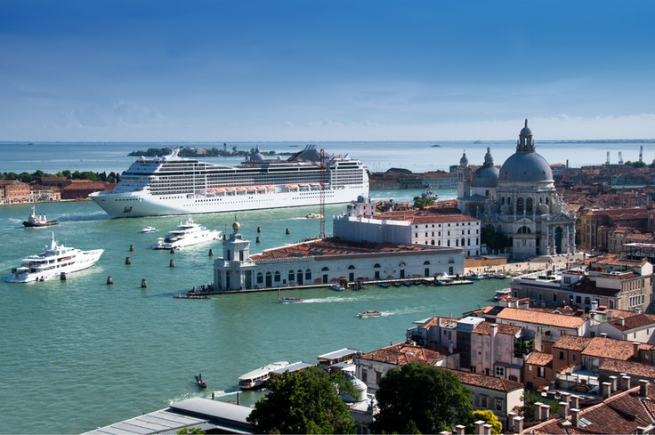 In the coming months, some larger cruise ships may be redirected toterminals away from the city center.