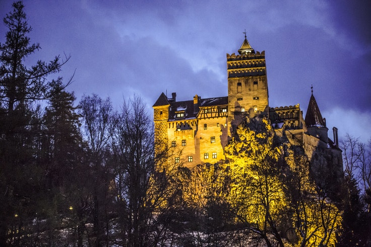 G Adventures has rented out Romania's Bran Castle for the night of Halloween.
