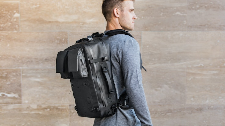 The Black Ember Citadel modular backpack aims to be all bags to all ... c4a61126d7bf5