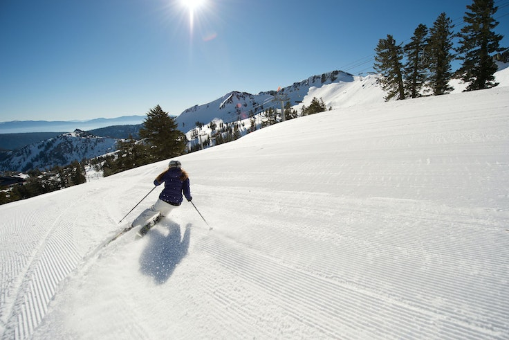 Skiers and snowboarders will get a free lift ticket at Squaw Valley Alpine Meadows in Lake Tahoe when they flash a boarding pass that shows they flew in the same day.