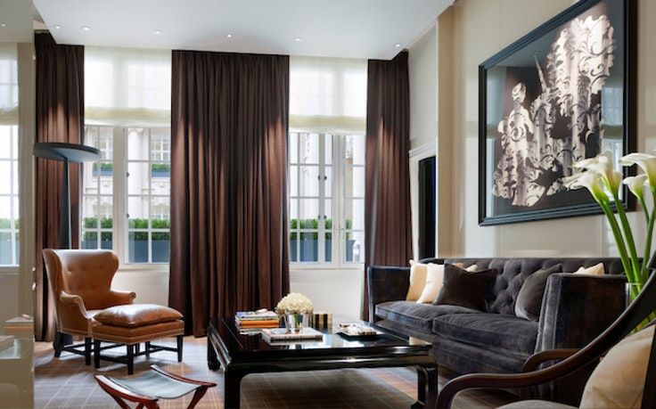 Rosewood London, housed in a 1914 Edwardian building and designed by Tony Chi and Associates, opened in 2013.
