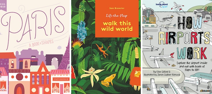 Introduce the youngest globe-trotters to the world with this array of picture books.