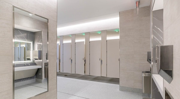 The New LaGuardia Renovations Just Solved Everything Wrong With Airport Bathrooms