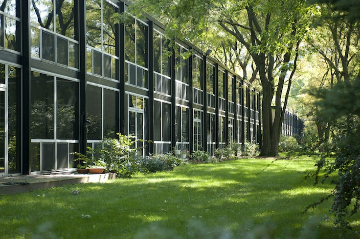 Detroit is home to an immense collection of Mies van der Rohe buildings.