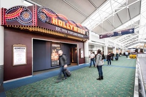 There's a New Indie Movie Theater in This Airport
