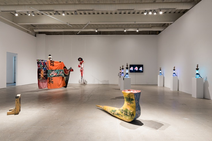 """""""Proposals on Queer Play and the Ways Forward"""" on view at the Institute of Contemporary Art, University of Pennsylvania."""