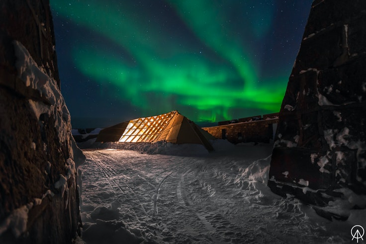 A recent pop-up restaurant in Canada's Manitoba province paired locavore dining with the dazzle of the northern lights (when weather conditions obliged).
