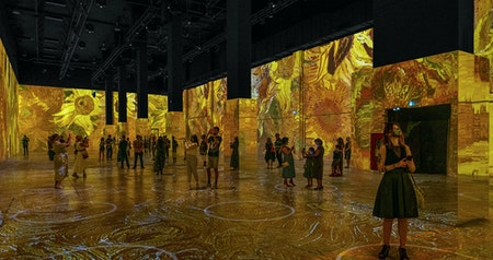 """Immersive Van Gogh"" Exhibit Extends San Francisco Run Through September 2021"