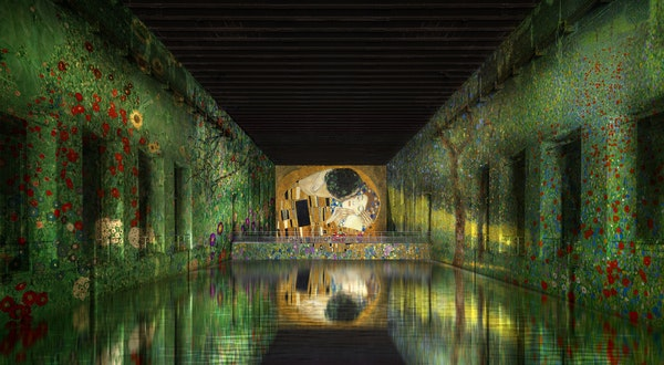 A WWII Submarine Base in France Is Being Converted Into the World's Largest Digital Art Center